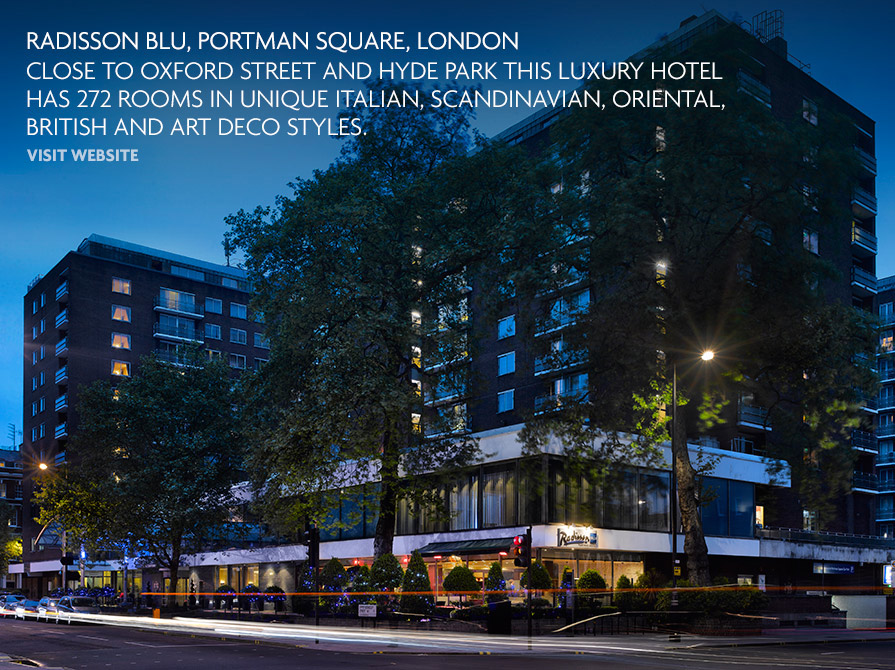 Radisson Blu Portman Hotel London Uk