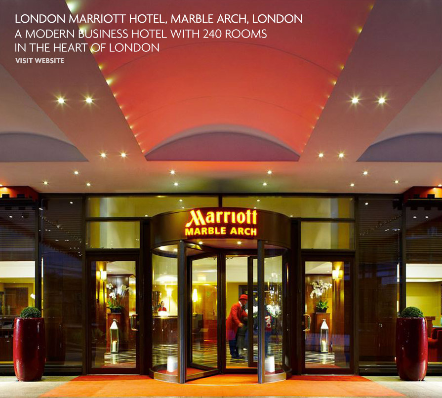 London Marriott Hotel, Marble Arch, London - L + R | London